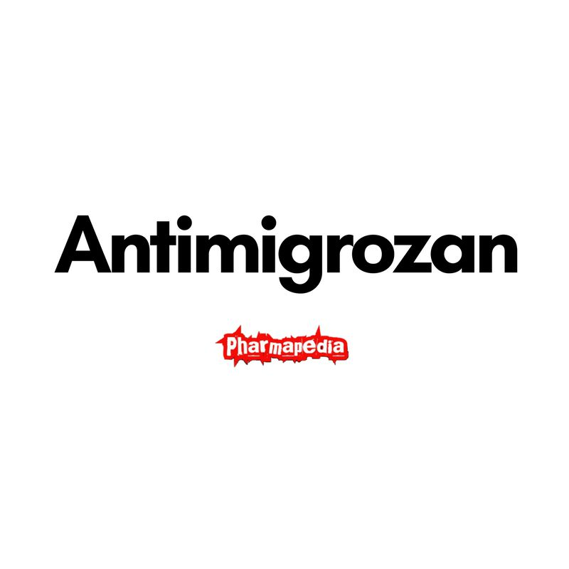 Antimigrozan tablets‎ ‏ انتي ميجروزان اقراص
