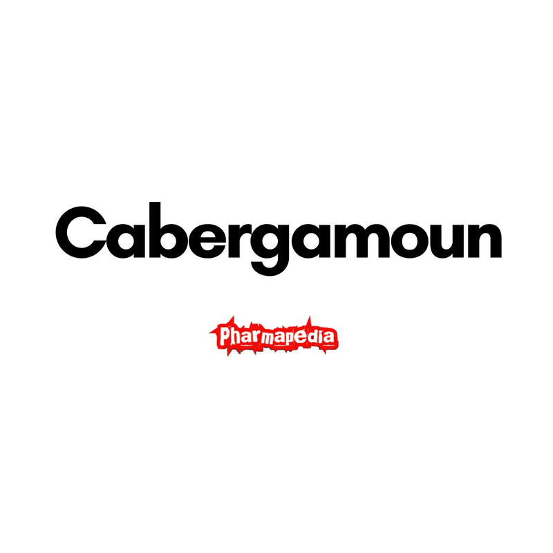 كبرجامون اقراص Cabergamoun tablets
