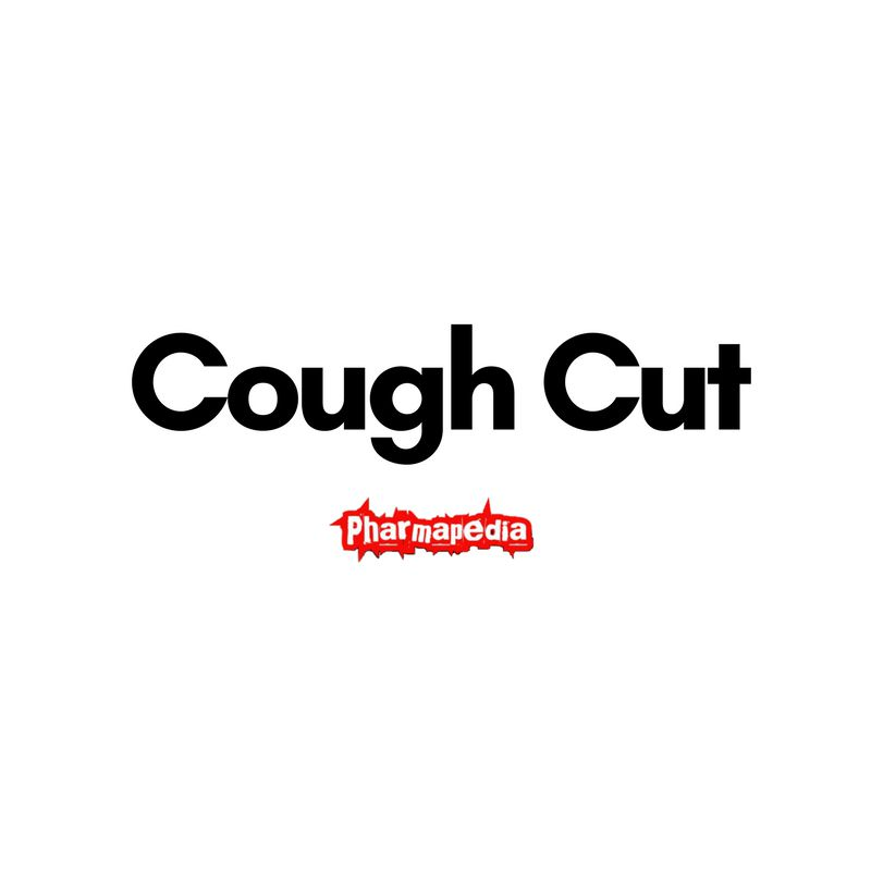 Cough Cut كف كت شراب مهدئ للسعال