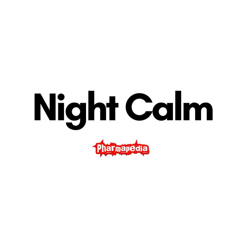 Night Calm tablets نايت كالم اقراص